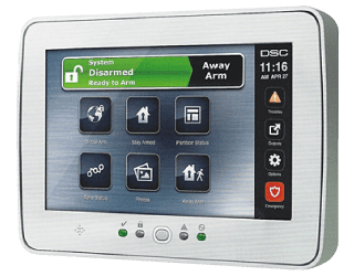 TouchScreen Security Interface PTK5507